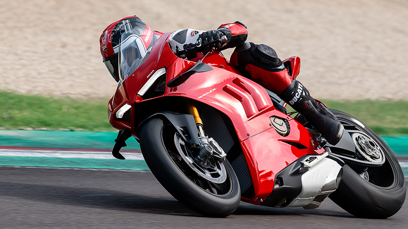 2021 Ducati Panigale V4 S at Eurosport Cycle