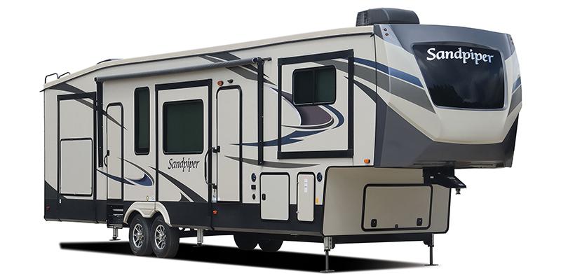 Sandpiper 368FBDS at Prosser's Premium RV Outlet