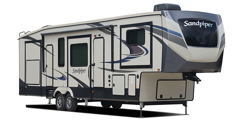 Sandpiper 384QBOK at Prosser's Premium RV Outlet