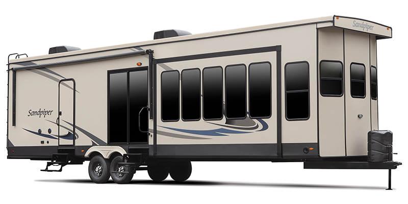 Sandpiper Destination 401FLX at Prosser's Premium RV Outlet