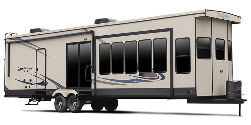 Sandpiper Destination 402FK at Prosser's Premium RV Outlet