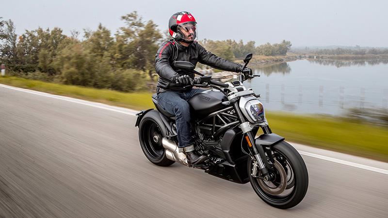 2021 Ducati XDiavel Dark at Eurosport Cycle