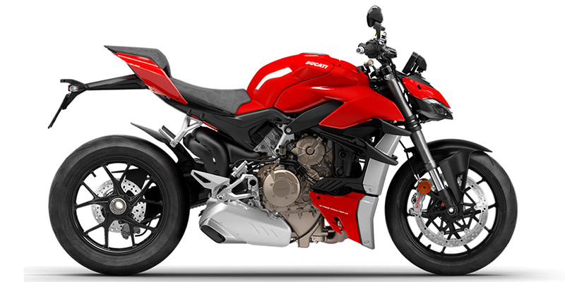 2021 Ducati Streetfighter V4 at Eurosport Cycle
