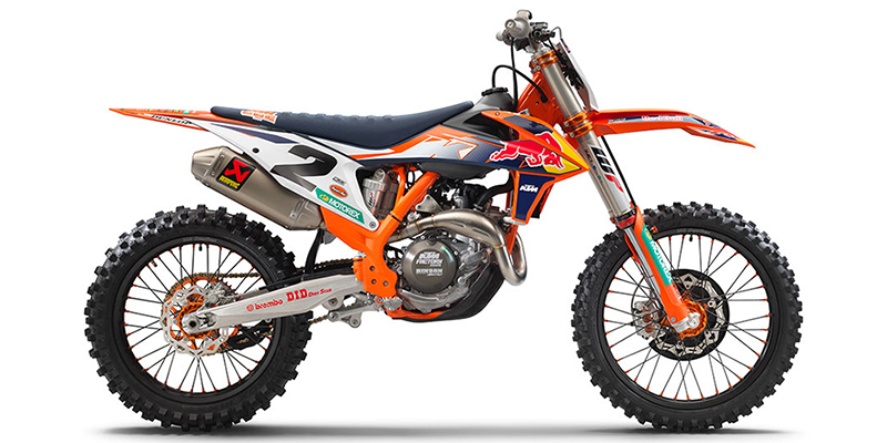 450 SX-F Factory Edition at Pitt Cycles