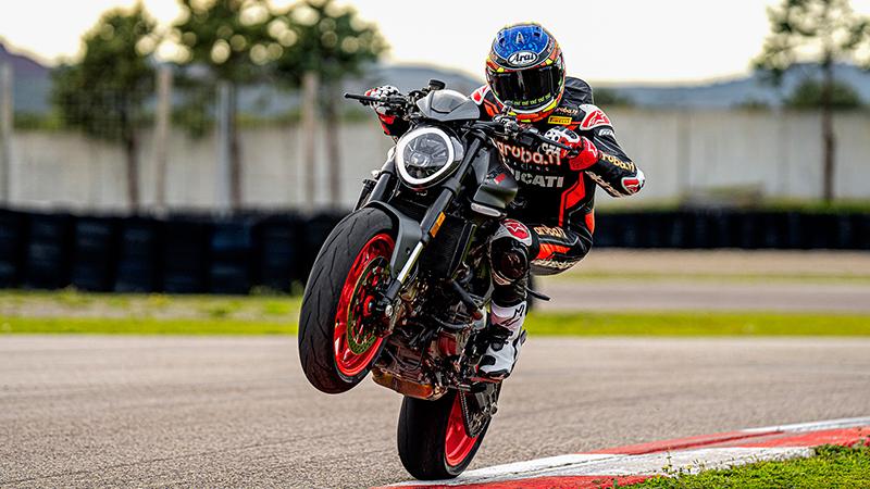 2021 Ducati Monster 937+ at Eurosport Cycle