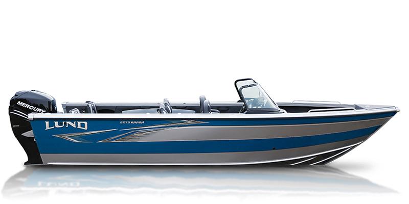 2021 Lund Baron 2275 Sport at Pharo Marine, Waunakee, WI 53597
