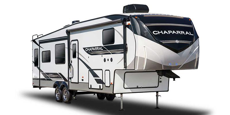 Chaparral 334FL at Prosser's Premium RV Outlet