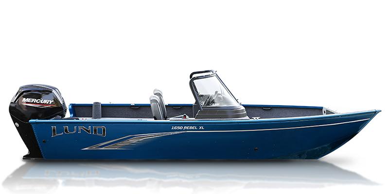 2021 Lund Rebel XL 1650 XL SS at Pharo Marine, Waunakee, WI 53597