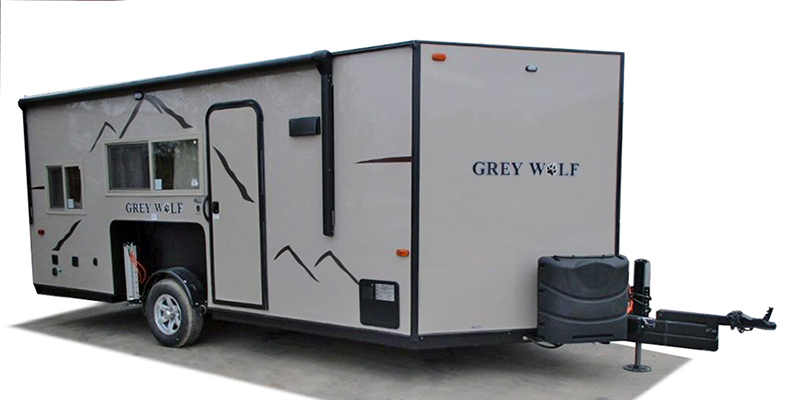 Cherokee Grey Wolf Fish House 16GR at Prosser's Premium RV Outlet