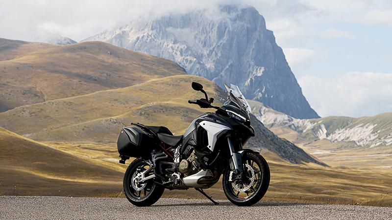 2021 Ducati Multistrada V4 at Eurosport Cycle