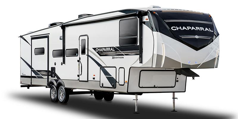 Chaparral X-Edition 393MBX at Prosser's Premium RV Outlet