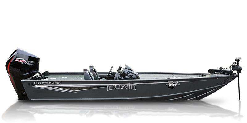 2021 Lund Pro-V Musky 1875 at Pharo Marine, Waunakee, WI 53597
