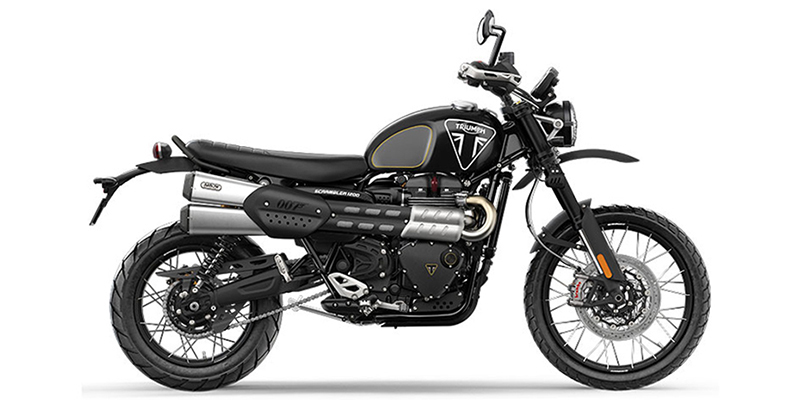 Scrambler 1200 Bond Edition at Frontline Eurosports