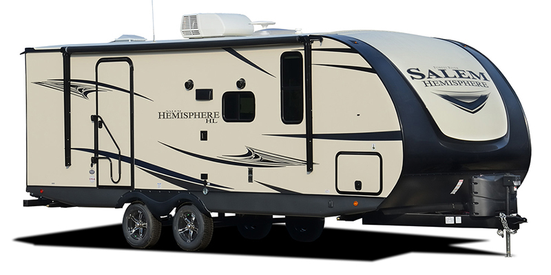 Salem Hemisphere Hyper Lyte 23BHHL at Prosser's Premium RV Outlet