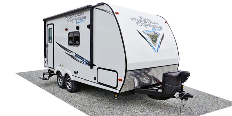 Freedom Express Blast 17BLSE at Prosser's Premium RV Outlet