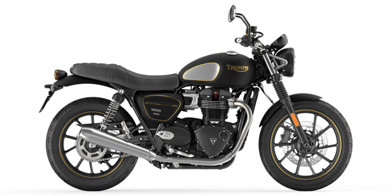 Street Twin Gold Line at Eurosport Cycle