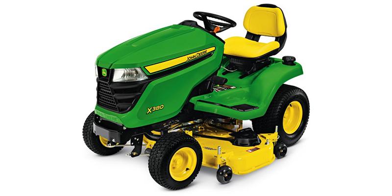 2021 John Deere Select Series X300 X380 (54-Inch Deck) at Keating Tractor