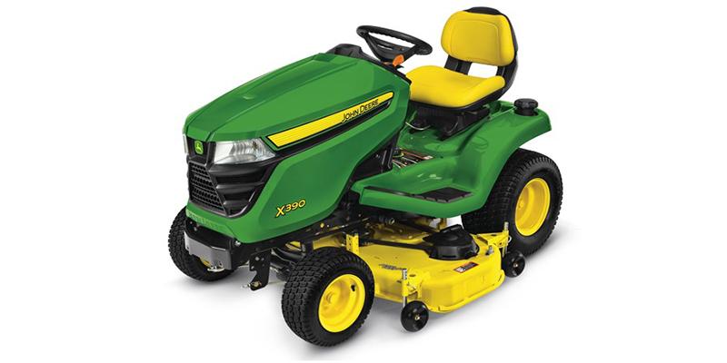 2021 John Deere Select Series X300 X390 (48-Inch Deck) at Keating Tractor