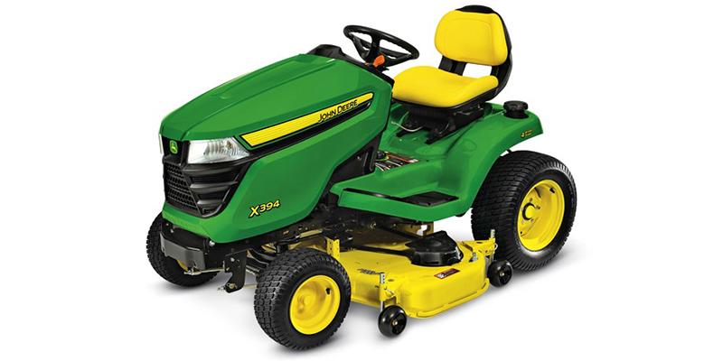 2021 John Deere Select Series X300 X394 (48-Inch Deck) at Keating Tractor