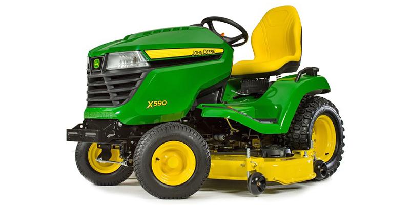 2021 John Deere Select Series X500 X590 (54-Inch Deck) at Keating Tractor