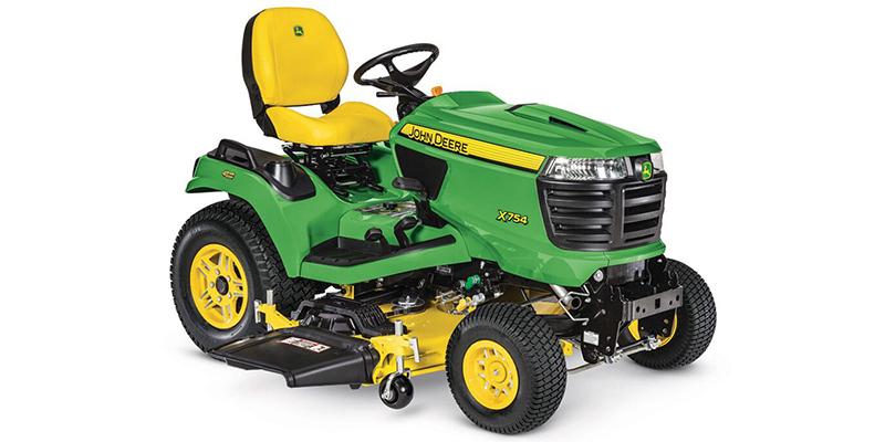 2021 John Deere Signature Series X700 X754 (54-Inch HC Deck) at Keating Tractor