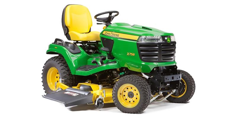 2021 John Deere Signature Series X700 X758 (54-Inch HC Deck) at Keating Tractor
