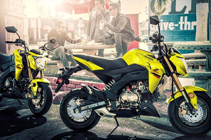 2022 Kawasaki Z125 PRO Base at Dale's Fun Center, Victoria, TX 77904