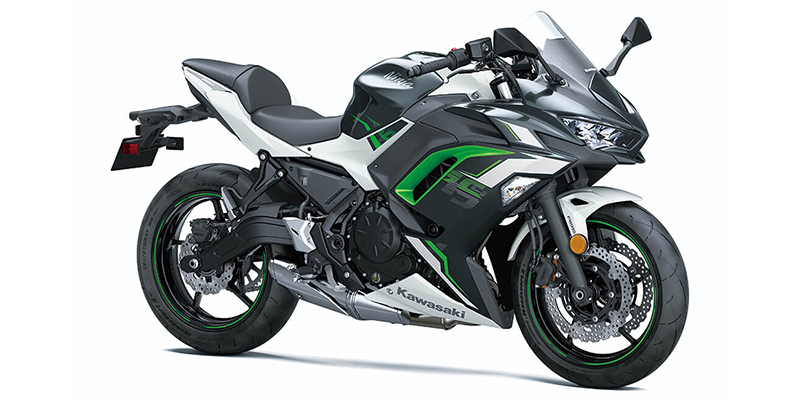 2022 Kawasaki Ninja 650 ABS Metallic Matte Graphenesteel Gray ABS at Martin Moto