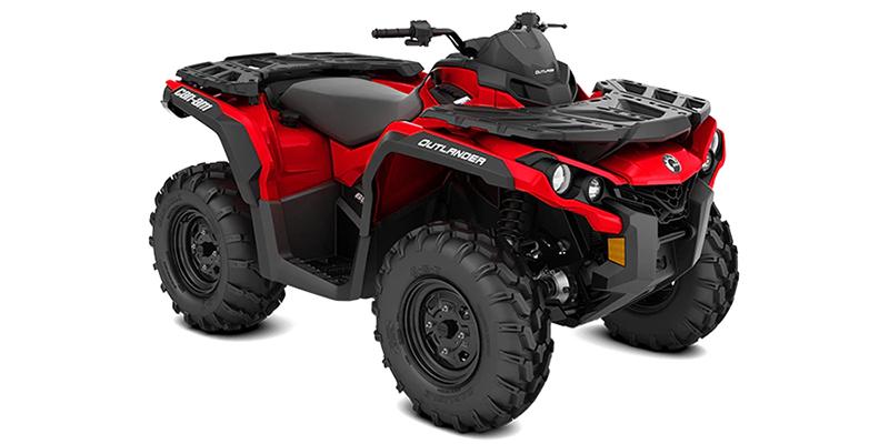 2022 Can-Am Outlander 650 at Sloans Motorcycle ATV, Murfreesboro, TN, 37129