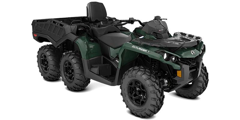 2022 Can-Am Outlander MAX 6x6 DPS 650 at Sloans Motorcycle ATV, Murfreesboro, TN, 37129