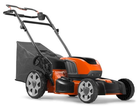 2018 Husqvarna Walk Behind Lawn Mower LE121P Battery Powered at Harsh Outdoors, Eaton, CO 80615