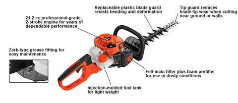 Hedge Trimmers HC-2020 at Lincoln Power Sports, Moscow Mills, MO 63362
