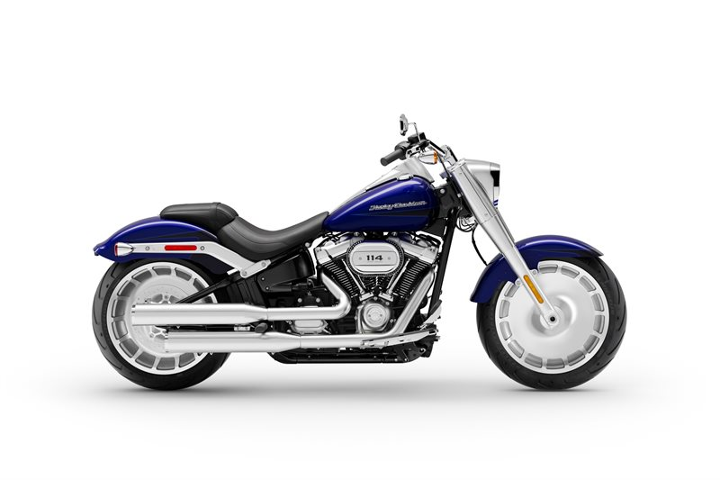 Fat Boy 114 at Gasoline Alley Harley-Davidson (Red Deer)