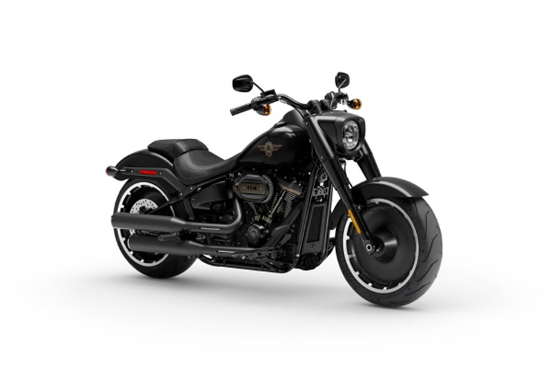 2020 Harley-Davidson Softail Fat Boy 114 30th Anniversary Limited Edition at Zips 45th Parallel Harley-Davidson