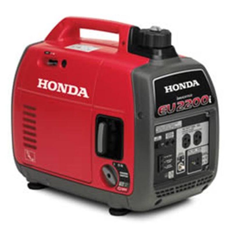 2020 Honda Power Generators EU2200i at Shawnee Honda Polaris Kawasaki