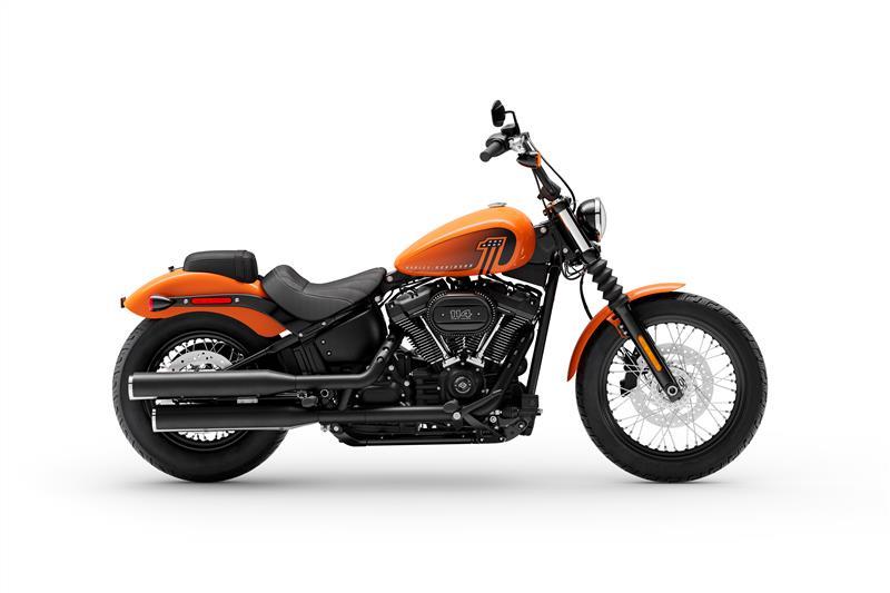 2021 Harley-Davidson Cruiser FXBBS Street Bob 114 at La Crosse Area Harley-Davidson, Onalaska, WI 54650
