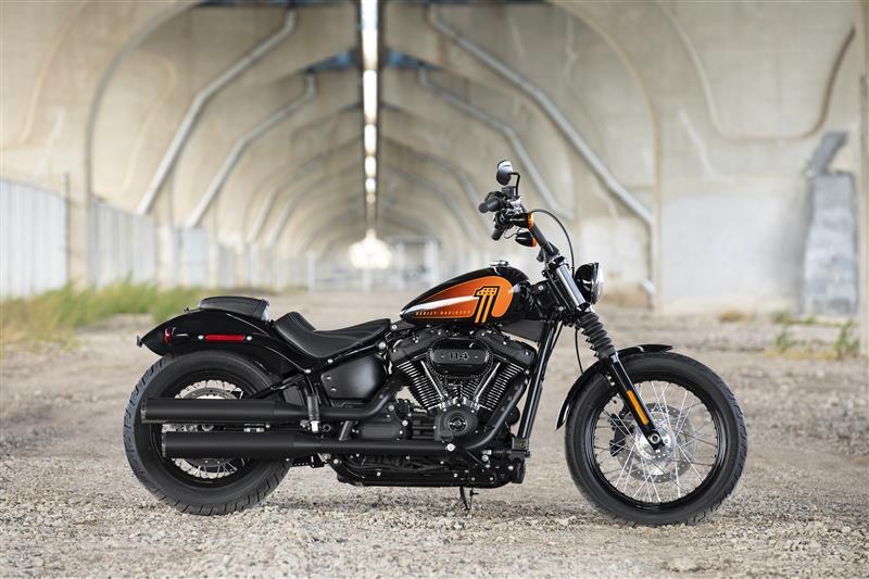2021 Harley-Davidson Cruiser FXBBS Street Bob 114 at Legacy Harley-Davidson