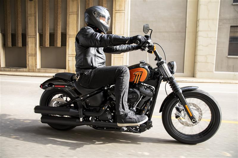 2021 Harley-Davidson Cruiser FXBBS Street Bob 114 at Harley-Davidson of Madison