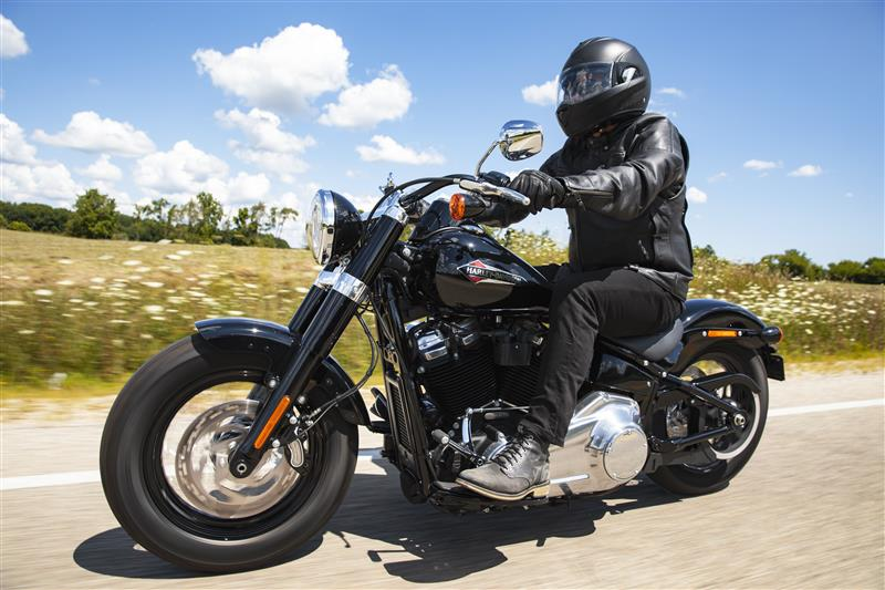 2021 Harley-Davidson Cruiser Softail Slim at Great River Harley-Davidson