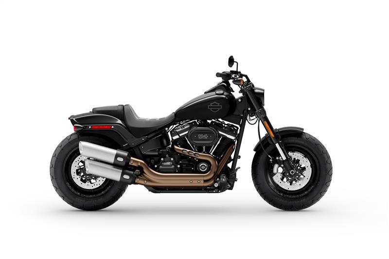 Fat Bob 114 at Mike Bruno's Northshore Harley-Davidson