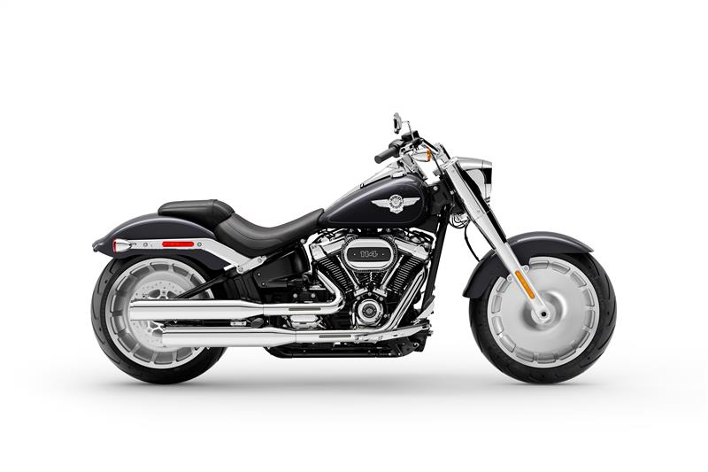 2021 Harley-Davidson Cruiser FLFBS Fat Boy 114 at Iron Hill Harley-Davidson