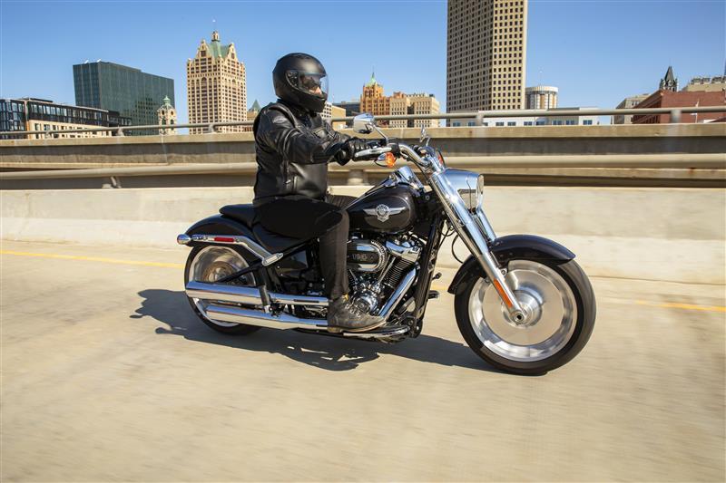 2021 Harley-Davidson Cruiser Fat Boy 114 at Gasoline Alley Harley-Davidson (Red Deer)