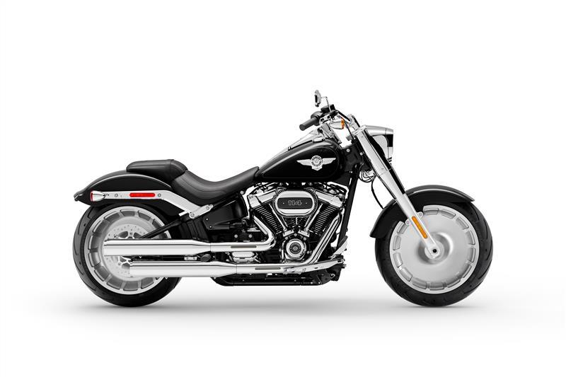 Fat Boy 114 at All American Harley-Davidson, Hughesville, MD 20637
