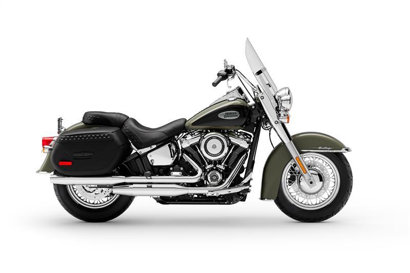2021 Harley-Davidson Touring Heritage Classic at Gasoline Alley Harley-Davidson (Red Deer)