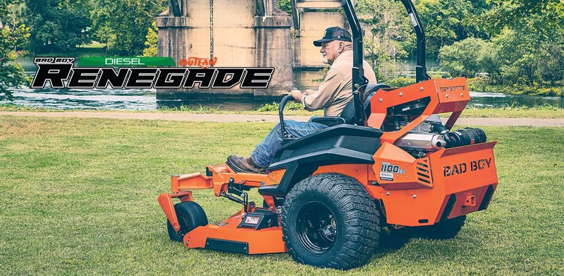2021 Bad Boy Mowers Renegade Diesel Renegade Diesel at Polaris of Ruston