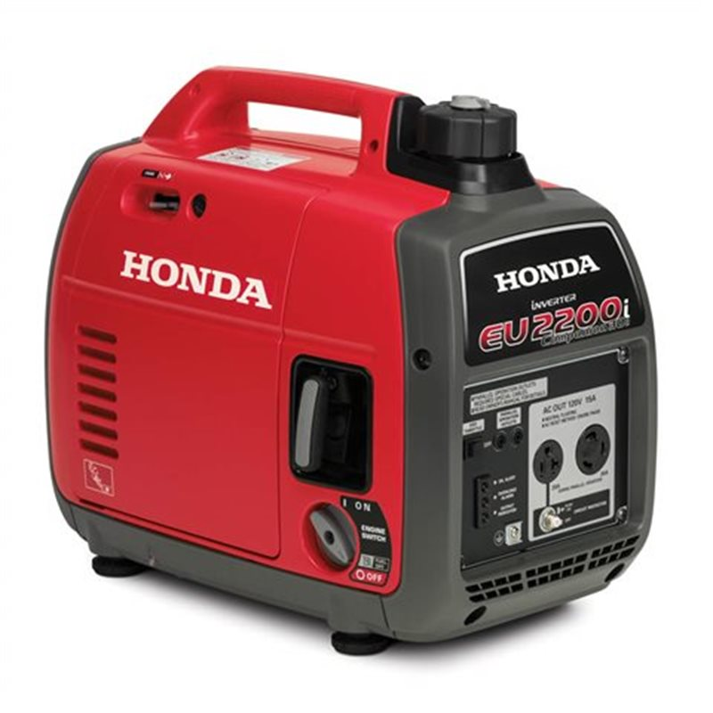 2021 Honda Generators EU2200i Companion at Kent Motorsports, New Braunfels, TX 78130