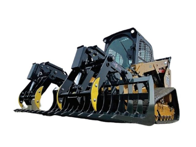 Iron Eagle Dual Action Grapple at Keating Tractor