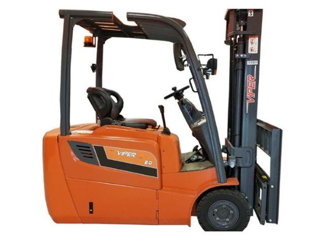 2021 Viper Lift Trucks 4 Wheel Electric Forklifts FB20 at Keating Tractor