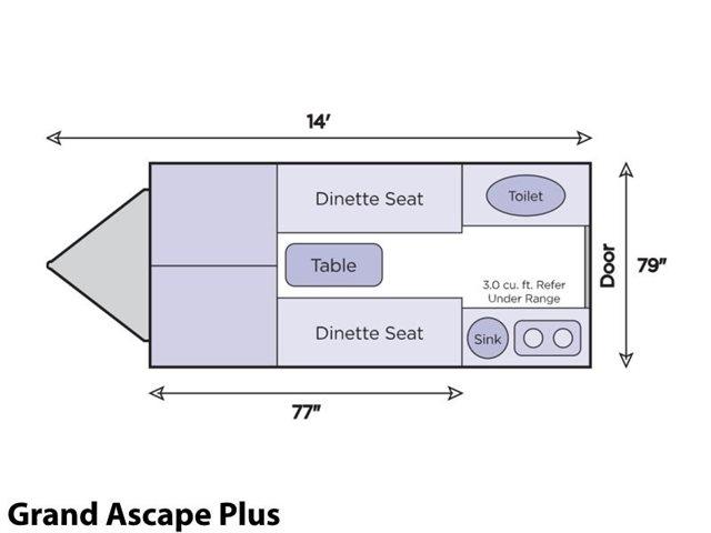 Grand Ascape Plus at Prosser's Premium RV Outlet