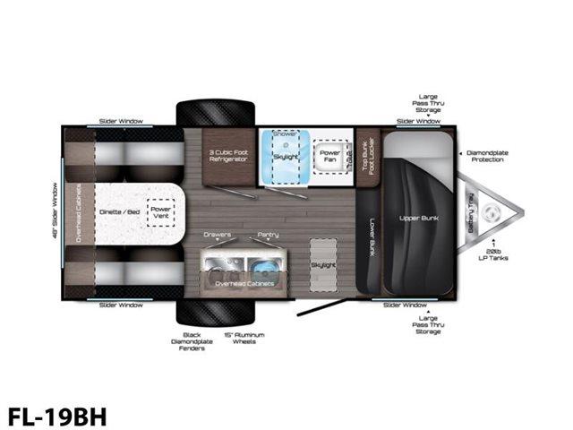 FL-19BH at Prosser's Premium RV Outlet